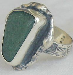 Primary image for Green quartz ring HMC