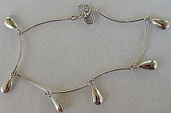 Primary image for Silver drops braceelt