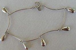 Silver drops braceelt - $24.00