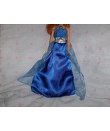 Blue Satin Gown with Blue with Silver Stars Tul... - $5.95