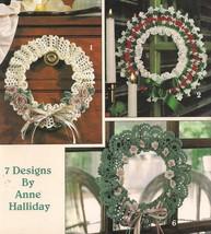 LOVELY WREATHS TO CROCHET pattern booklet - $4.36