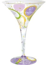 Lolita MINI Shop-a-Holiday Wine Glass Ornament Retired rare Christmas - $22.79