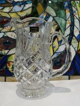 Noritake Hampton hall Collection Full Lead Crystal Pitcher West Germany - $49.49