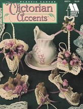 Annie's Attic Victorian Accents Leaflet 8B074 Crocheting on Plastic Canvas - $4.99