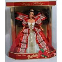 Happy Holidays Barbie Doll - Special Edition 10th Hallmark - $47.25