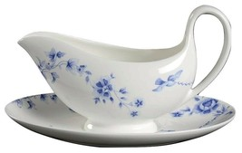 Wedgwood Harmony Sauce Gravy Boat & Underplate NEW MADE IN UK  - $64.33