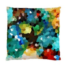 Throw Pillow case, Cushion Case, Design 114 Mosaic Colorful abstract by L.Dumas - $24.99+