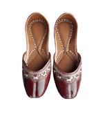 punjabi jutti  sandal slipper, fashion shoes, hanmad jutti USA-6        ... - $29.99