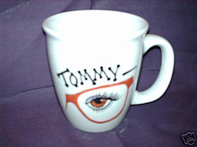 Personalized Ceramic Coffee Mug Optometrist Handpainted