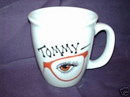 Personalized Ceramic Coffee Mug Optometrist Handpainted - $12.50