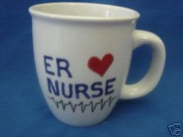 Personalized Ceramic Coffee Mug Medical  Nurse Handpainted - $12.50