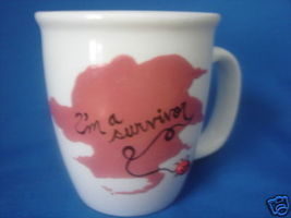 Personalized Ceramic Mug Survivor Breast Cancer... - $12.50