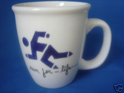 Personalized Mug Runner symbol Run For Life