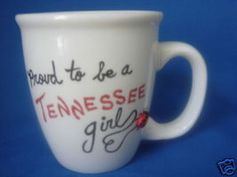 Personalized Mug Proud to be a TENNESSEE girl - $12.50