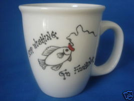 PEersonalized Mug    Stop Wishing Go Fishing - $12.50