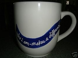 Personalized Ceramic Mug Make a Difference - $12.50