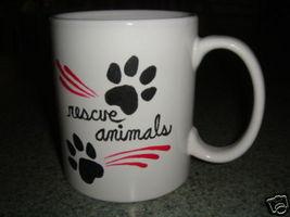 Personalized Ceramic Mug. Rescue Animals - $12.50