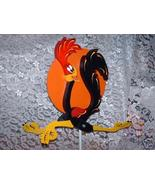 Whirligig  Black Running Bird  Handpainted & crafted Wood  - $58.00