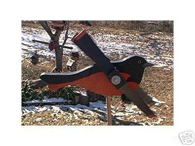 Whirligig Wind Mobile Oriole Handpainted Handcrafted Wood