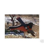 Whirligig Wind Mobile Oriole Handpainted Handcrafted Wood  - $35.00