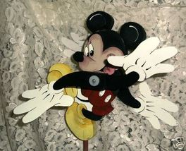 Whirligig Mickey Mouse -Wind Mobile, Handcrafted, Handpainted,wind mobil... - $58.00