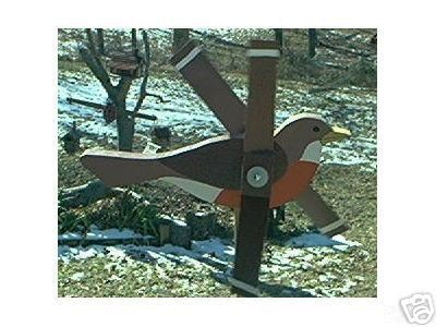 Whirligig Wind Mobile Robin, Handpainted,Handcrafted,motion,mobile,whirligigs