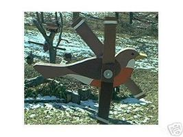 Whirligig Wind Mobile Robin, Handpainted,Handcrafted,motion,mobile,whirl... - $35.00