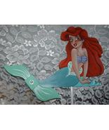 Whirligig Wind Mobile Mermaid Motion Handpainted Handcrafted - $58.00
