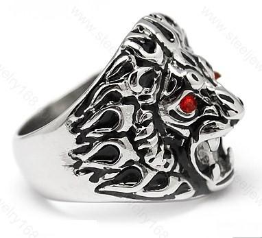 Ssr04 lion head ring