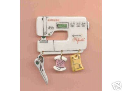 Sewing Machine Pin Singer Quantum Stylist Handcrafted