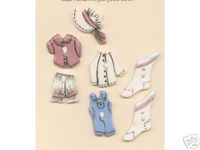 Handmade Ceramic Buttons-COUNTRY CLOTHING