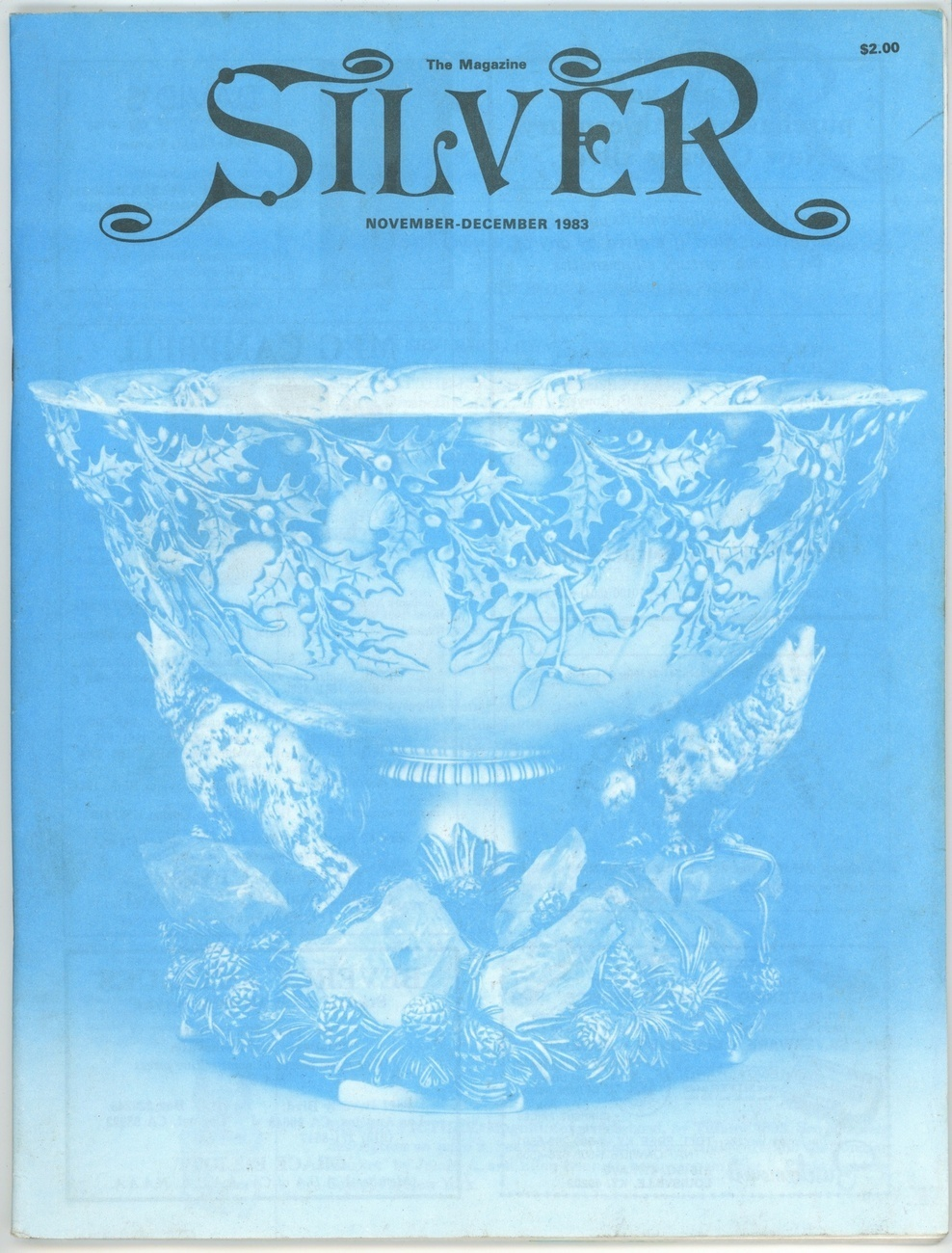 Silver magazine November December 1983 vintage collecting Tiffany jewish antique