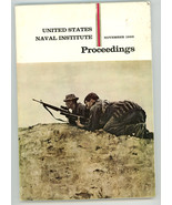 US Naval Institute Proceedings November 1969 book Marine Stingray - $12.00