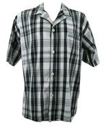 Polo Ralph Lauren Men's Pajama Top Size Large 100% Cotton Button Front N... - $29.20
