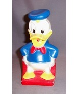 Vintage 1960's Donald Duck piggy bank/ Play Pal Plastic - $24.95