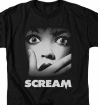 Scream movie poster t-shirt Wes Craven slasher horror film graphic tee MIRA113 image 2