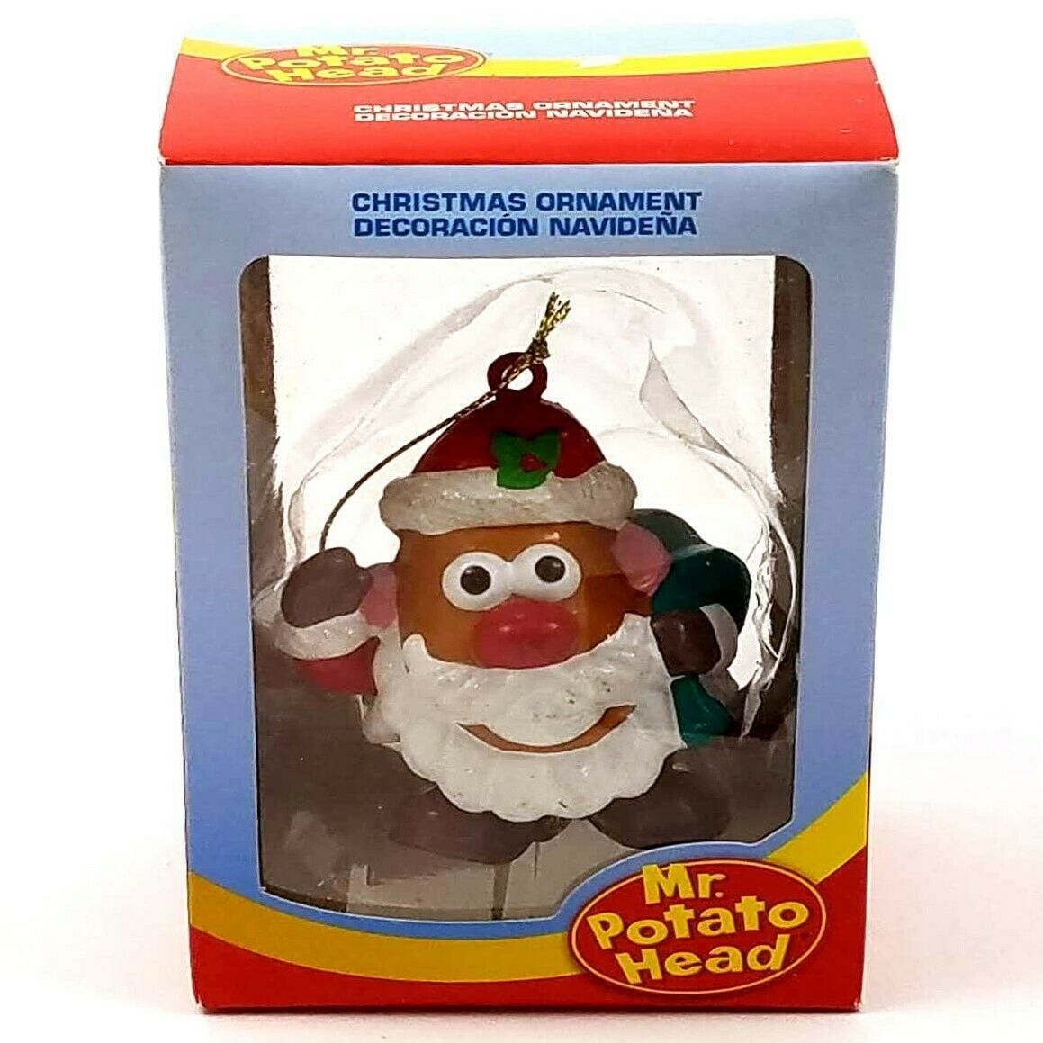 "Primary image for Mr. Potato Head Santa Claus Christmas Tree Ornament - 3"" High Kurt Adler 2013"