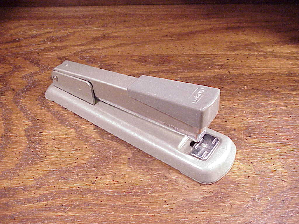 Vintage Sears Desk All Metal Stapler, good quality, built made to last