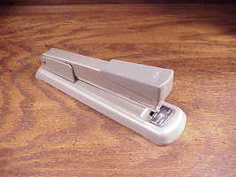 Vintage Sears Desk All Metal Stapler, good quality, built made to last image 1
