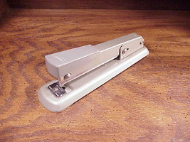 Vintage Sears Desk All Metal Stapler, good quality, built made to last image 2