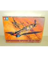 TAMIYA MODEL KIT- 61035- SUPERMARINE SPITFIRE MK.VB TROP 1:48- NEW- W53 - $19.61