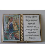 GRANDMOTHER DECORATED BOOK ~ BOY WITH DOGS - $12.00