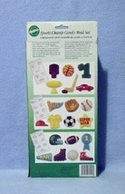 Wilton Candy Molds Set Sports Champ 3 Molds 20 Shapes New in Box image 2