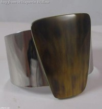 Fashion Cuff Bracelet with Brown Shell - $24.95