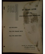 1961 Ford 906 Rotary Mower Operator's Manual - $9.00
