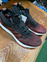 Adidas PureBOOST RBL  running Course Limited Red Black White Size Man 10... - $89.10