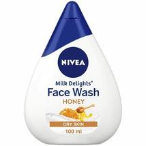 NIVEA Women Face Wash for Dry Skin, Milk Delights Honey, 100ml - $8.81