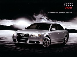 2008 Audi A4 sales brochure catalog US 08 2.0T 3.2 - $10.00