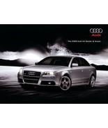 2008 Audi A4 sales brochure catalog US 08 2.0T 3.2 - $10.00