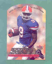 2000 Ultra Gold Medallion Darrell Jackson Rookie Card Seahaw - $4.00